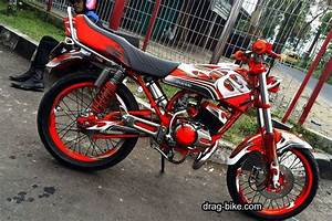 Motor Rx King Full Modif Cat Merah