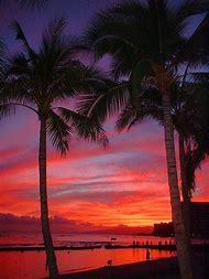Waikiki Beach Hawaii Sunset
