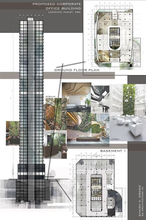 architectural building plans 22 best architectural works images on
