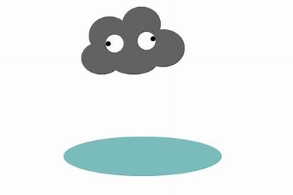 Cloud Clouds Rain Animated Clipart Rainy Cartoon