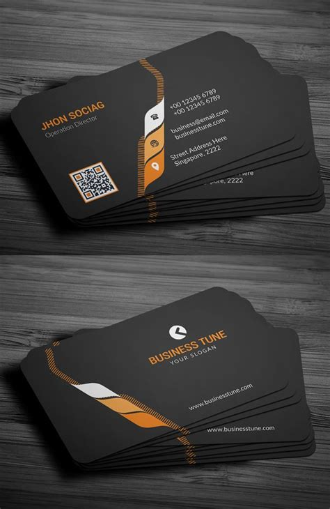 professional business card psd templates