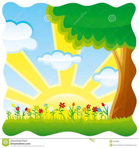 Summer Scene Clipart  101 Clip Art