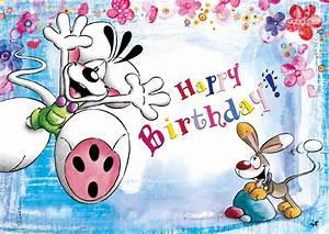 Happy Birthday Maus : happy birthday diddl echte postkarten online versenden ~ Buech-reservation.com Haus und Dekorationen