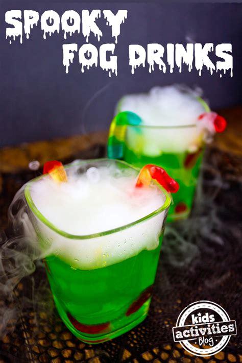 halloween drink halloween party drink spooky fog drinks