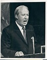 1970 Photo British Prime Minister Edward Heath Addressing ...