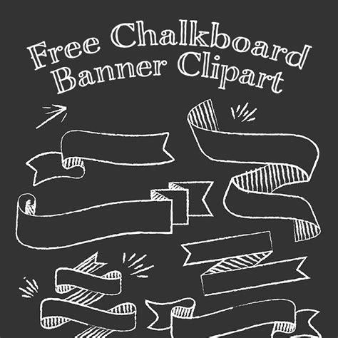 chalkboard logo templates free chalkboard banner free theveliger