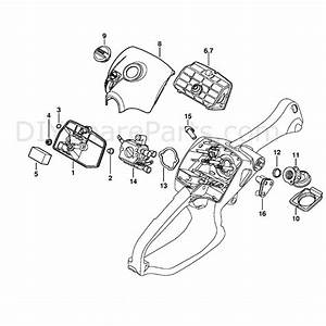 Stihl Ms 192 Chainsaw  Ms192c  Parts Diagram  Air Filter