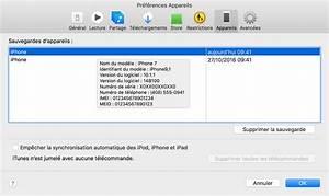 Comment Supprimer Une Application Iphone 7 : retrouver les sauvegardes de votre iphone ipad ou ipod touch assistance apple ~ Medecine-chirurgie-esthetiques.com Avis de Voitures