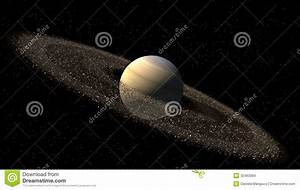 Model Of Saturn Like Planet Stock Images - Image: 32463084