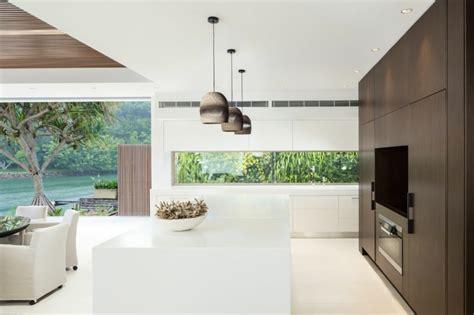 les modernes cuisines l élégance et le style contemporain d une maison d