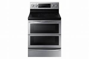 5 9 Cu Ft Electric Range With Flex Duo U2122  Stainless Steel