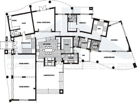 open modern floor plans contemporary house floor plans open contemporary house