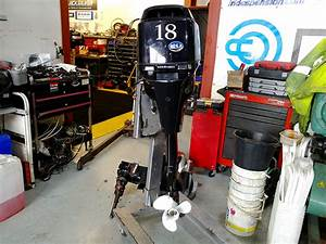 Tohatsu 18hp Outboard Engine For Sale At Harbour Marine In Pwllheli