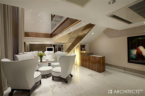 luxury penthouse  zz architects  mumbai  behance