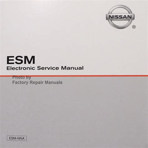 2015 nissan nv passenger cargo factory service manual cd rom 1500 2500 3500 factory
