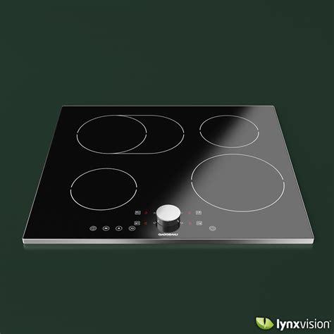 gaggenau induction cooktop model max obj fbx cgtradercom