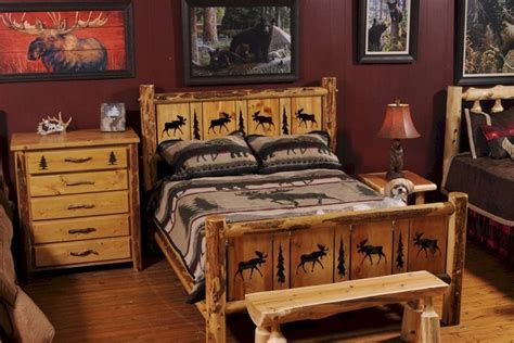 Bedroom Decorating Ideas With Pine Furniture by 27 Modern Rustic Bedroom Decorating Ideas For Any Home