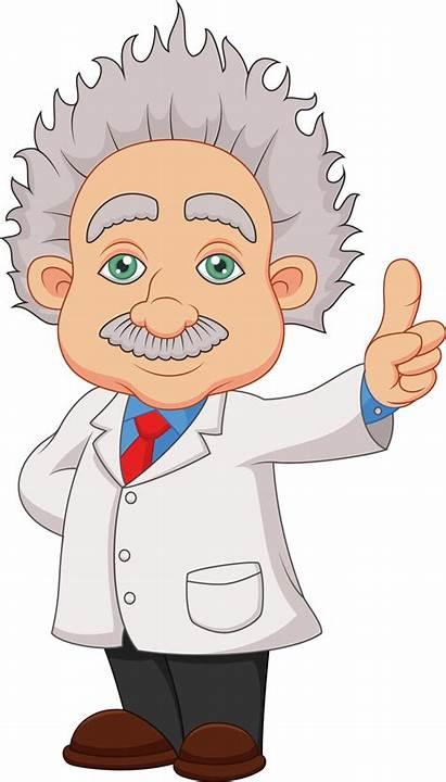 Einstein Transparent Scientist Clip Clipart Background Albert