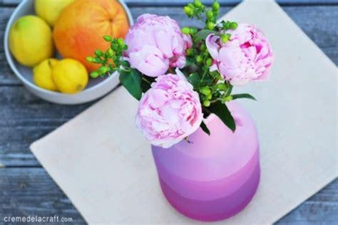 Cool Flower Vases by Cool Diy Striped Flower Vase Shelterness