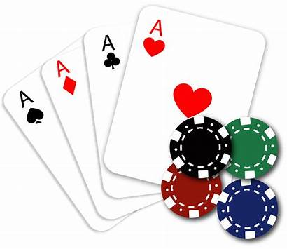 Poker Chips Games Gambling Cards Playing Clip