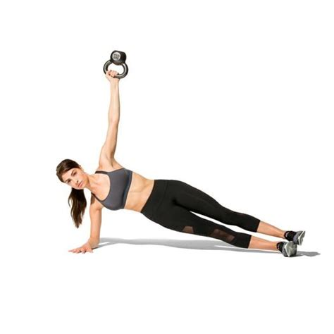 kettlebell workout shape workouts plank fly side