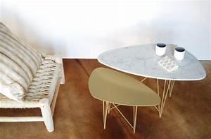 Table Plateau Marbre : tables basses en marbre laquelle choisir emmanuelle ~ Teatrodelosmanantiales.com Idées de Décoration