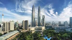 Kuala Lumpur City Centre Panaromic Desktop Wallpaper Hd ...