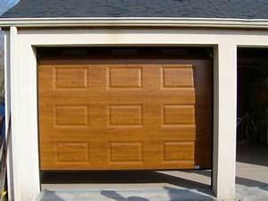 porte de garage sectionnelle motorisee realisation de la With pose de porte de garage sectionnelle motorisée