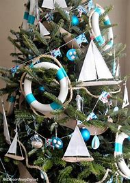 nautical christmas tree - Nautical Christmas Decorations