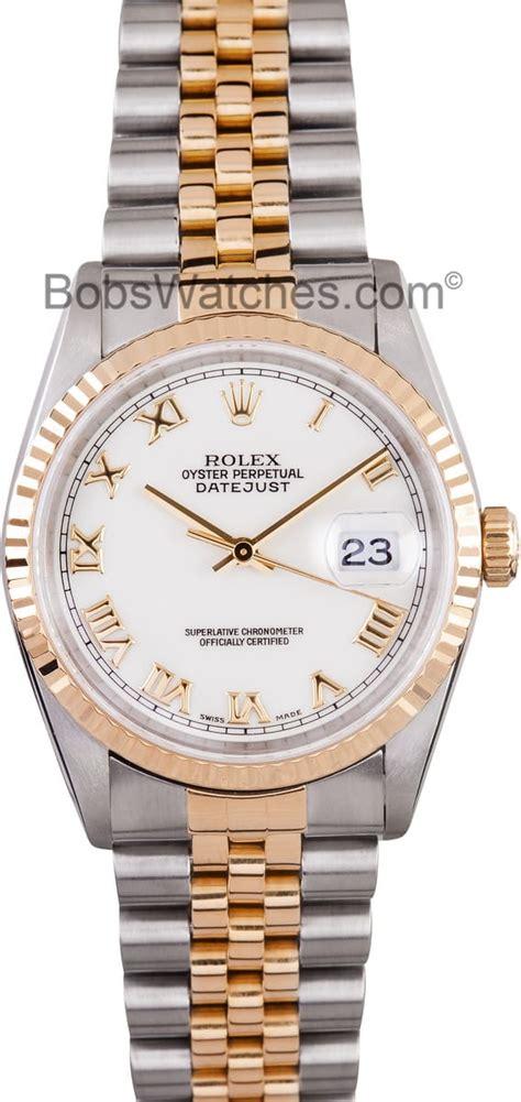 mens rolex datejust roman dial  find  prices