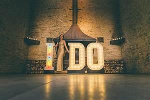 idyllic illumination five ideas to light up your wedding With light up letters wedding