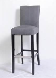 Chaise Bar Cuisine : chaise haute cuisine grise ~ Teatrodelosmanantiales.com Idées de Décoration
