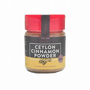 Dr Gram Organic Ceylon Cinnamon Powder 80g - Lifewinners ...
