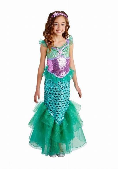 Mermaid Costume Deluxe Seas Costumes Ariel Child