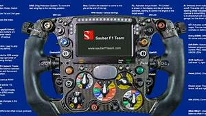 This Detailed Diagram Of A Formula 1 Steering Wheel Will