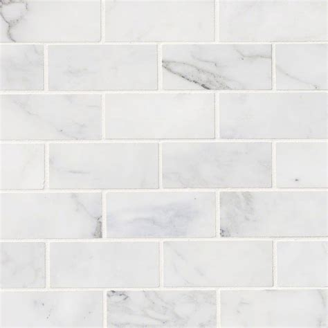 calacatta cressa white subway tile 2x4 subway tile
