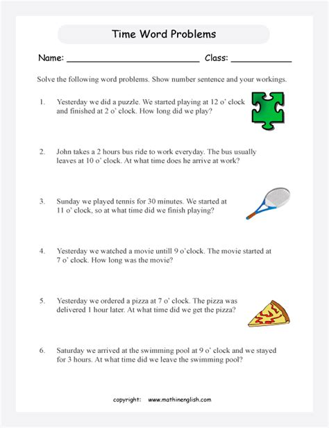 solve these time word problems with time problems to the nearest 30 minutes or half hour