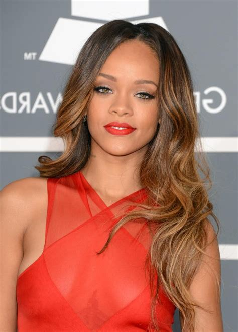 15 inspirations of long hairstyles rihanna
