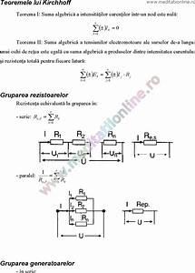 Fizica mecanica formule
