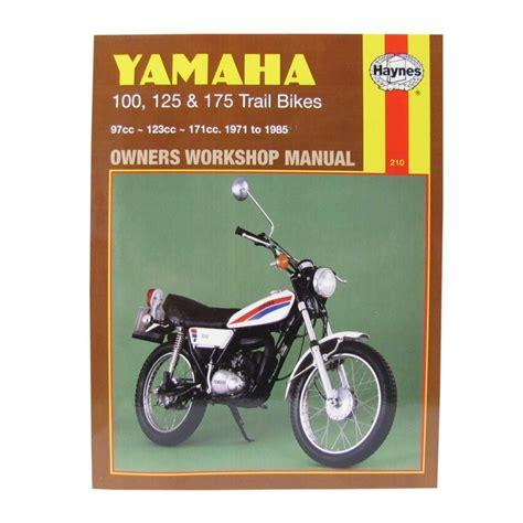 mitsui yamaha limited workshop manual yamaha dt100 76 83 dt125 mx 73 82 dt175 mx 73 85