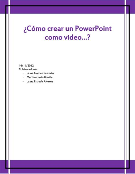 Como Hacer Un Meme Online - c 243 mo crear un power point como video