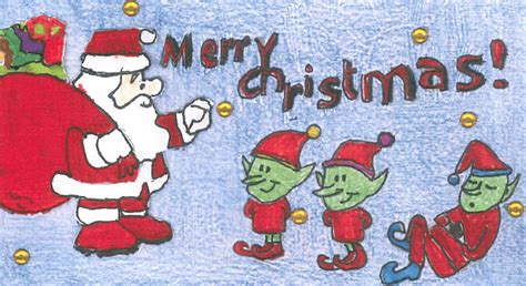 Christmas Card Competition Attracts Record Number Of Entries