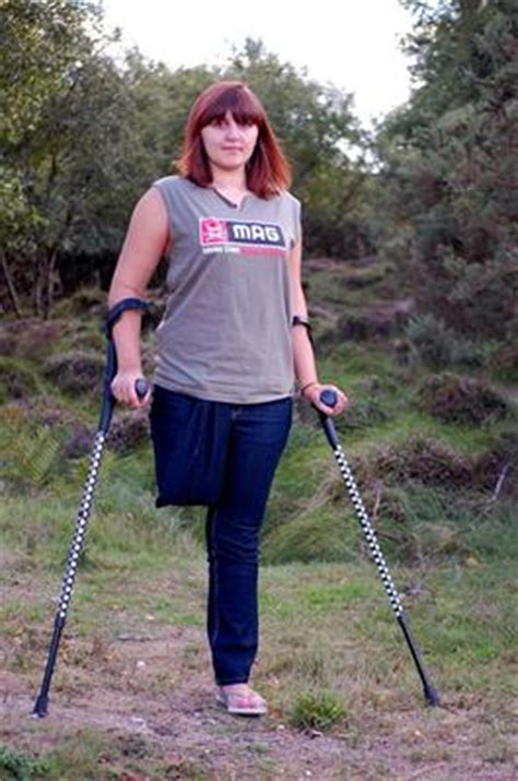 Collection Of Tumblr Amputee Women On Crutches Photos Foto