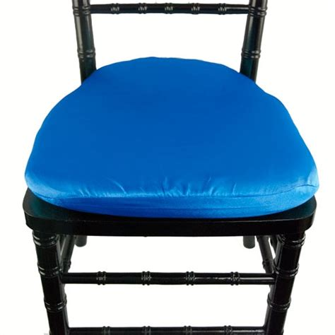 contempo linens chair pad covers satin crepe back royal