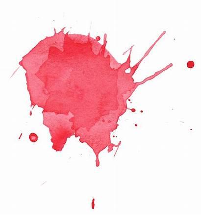 Watercolor Splatter Splash Transparent Paint Watercolour Colors