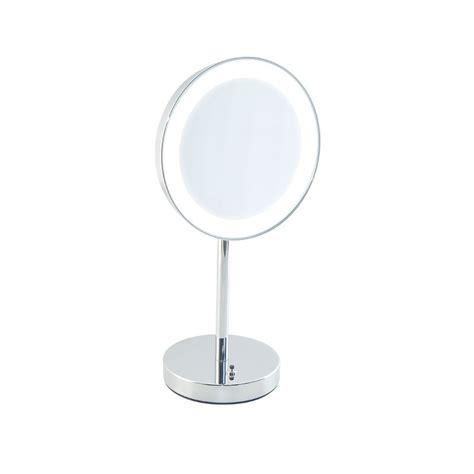 Specchi Ingranditori Per Bagno by Specchio Ingranditore Bagno Con Luce Led Batteria Appoggio