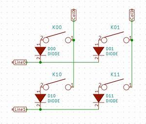 Mechanical Keyboard Wiring Diagram