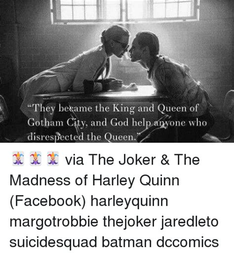 King And Queen Memes - they bekame the king and queen of gotham and god help one who disrespected the queen via the