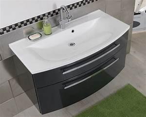 Waschbecken 50 Cm Breit : waschtisch mit unterschrank 90 cm genial waschbecken 80 breit 63106 hause deko ideen galerie ~ Bigdaddyawards.com Haus und Dekorationen