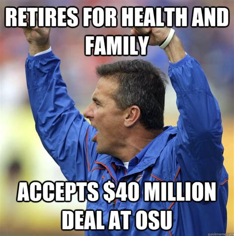 Urban Meyer Memes - post season college football thoughts red clay soul